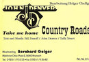 Country Roads - John Denver