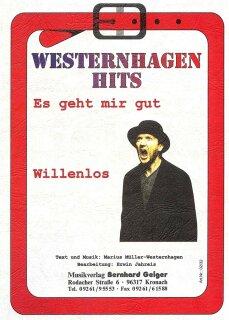Willenlos Fotos es geht mir gut willenlos westernhagen hits noten