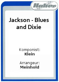 Jackson - Blues and Dixie