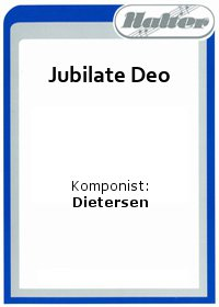 Jubilate Deo / Invocation
