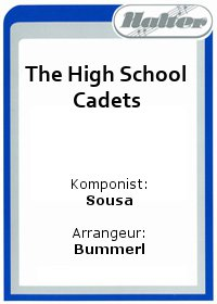 The High School Cadets / Musik im Blut