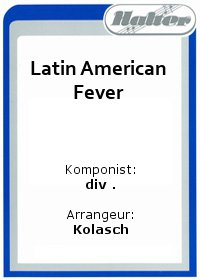 Latin American Fever