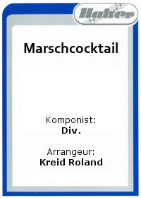 Marschcocktail