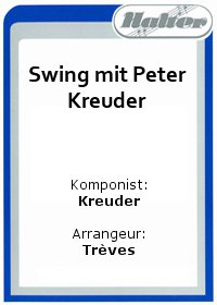 Swing mit Peter Kreuder