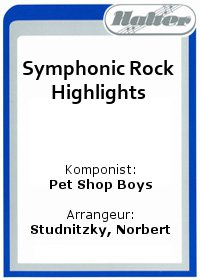 Symphonic Rock Highlights