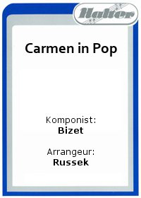 Carmen in Pop