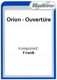 Orion - Ouvertüre