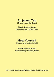 An jenem Tag / Help yourself
