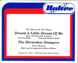Dream a little Dream / The Horseshoe Stompers