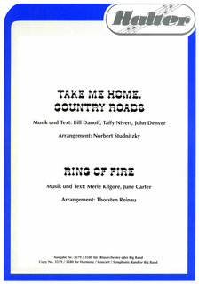 Take me home, Country roads / Ring of Fire