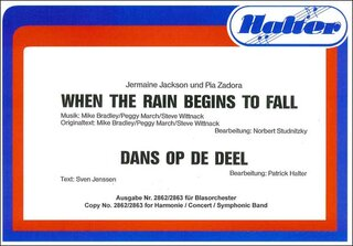 When the rain begins to fall / Dans op de Deel