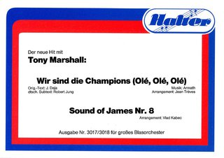 Wir sind die Champions (Ole, Ole, Ole) / Sound of James Nr.8