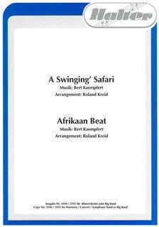 A swingin Safari / Afrikaan Beat