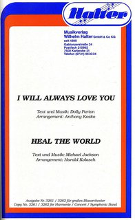 Heal the world / I will always love you