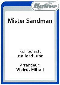 Mister Sandman / Love and Marriage