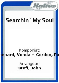 Searchin` My Soul