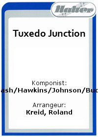 Tuxedo Junction / A String Of Pearls
