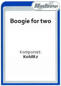 Boogie for two / Jockl und Mockl