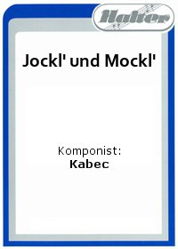 Jockl und Mockl / Boogie for two