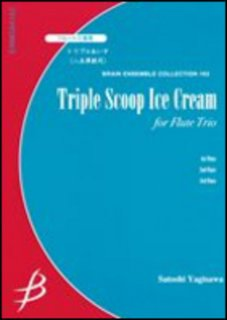Triple Scoop Ice Cream for Flute Trio