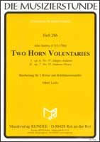 Two Horn Voluntaries