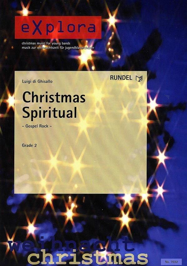 Christmas Spiritual | Noten - Jahreszeiten & Anlässe | Arr. Luigi di ...