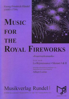 Music for the Royal Fireworks-Teil III