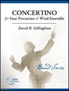 Concertino for Four Percussion and Wind Ensemble