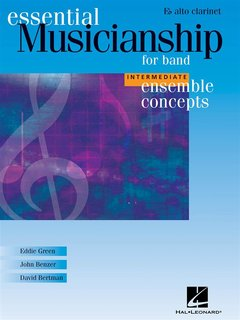 Ensemble Concepts for Band - Intermediate Level - Alto Clarinet