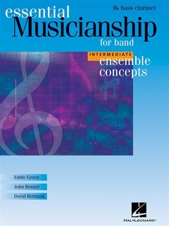 Ensemble Concepts for Band - Intermediate Level - Bass Clarinet