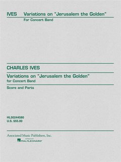 Variations on Jerusalem the Golden - Set (Partitur + Stimmen)