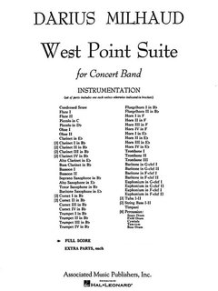 West Point Suite - Partitur