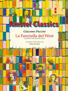 La Fanciulla del West - Set (Partitur + Stimmen)