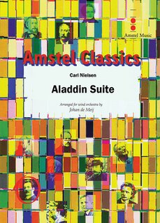 Aladdin Suite - Partitur