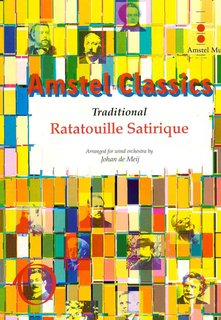 Ratatouille Satirique - Partitur