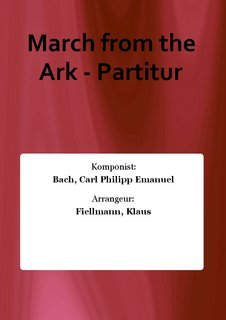 March from the Ark - Partitur