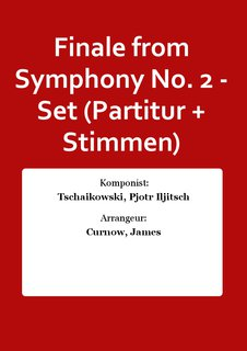 Finale from Symphony No. 2 - Set (Partitur + Stimmen)