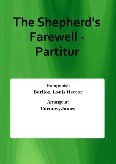 The Shepherds Farewell - Partitur