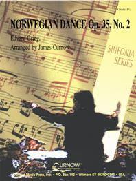 Norwegian Dance Op. 35, No. 2 - Set (Partitur + Stimmen)