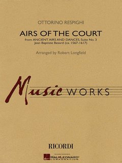 Airs of the Court - Partitur