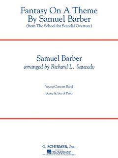 Fantasy on a Theme by Samuel Barber - Set (Partitur + Stimmen)