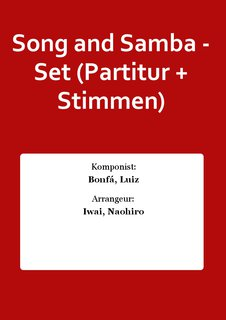 Song and Samba - Set (Partitur + Stimmen)