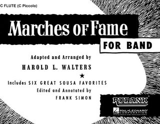 Marches of Fame for Band - Flute - Flute
