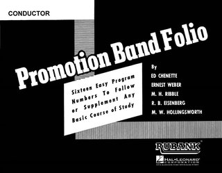 Promotion Band Folio - Conductor - Conductor