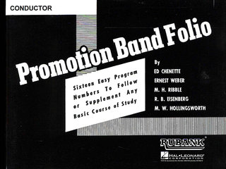 Promotion Band Folio - 2nd F Horn - 2nd F Horn
