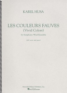 Les Couleurs Fauves (Vivid Colors) - Partitur
