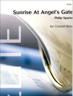 Sunrise at Angels Gate - Partitur