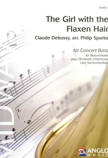 The Girl with the Flaxen Hair - Partitur