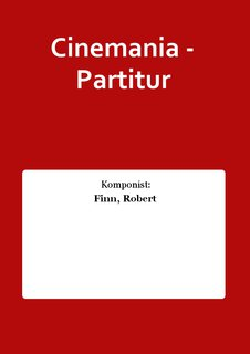 Cinemania - Partitur