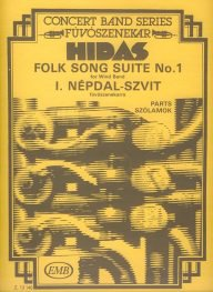 Folksong Suite No. 1 - Set (Partitur + Stimmen)